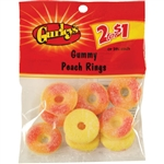 Gummy Peach Rings - 2.75 Oz.