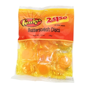 Butterscotch Buttons - 3.5 Oz.