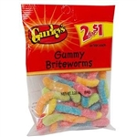 Gummy Briteworms - 2 Oz.