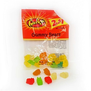 Gummy Bears - 2.25 Oz.