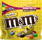M and Ms Peanut Stand up Pouch - 5.5 Oz.