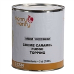 Caramel Fudge Topping Cafe Sarks - 50 Lb.