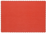 Placemat Red - 9.25 in. x 13.25 in.