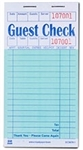 Guest Check Board 1 Part Booked Pkd 16 Lines Green