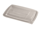 Entree Oblong Flat Rim Lid Vented - 10.25 in.