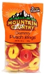 Gummy Peachies - 8 Oz.