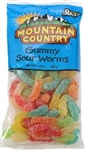 Gummy Worm Sour - 8 Oz.