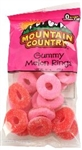 Gummy Watermelon Rings - 8 Oz.