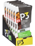 P3 Convenience Meal Sweet and Spicy Teriyaki Beef Jerky Honey Roasted Peanuts - 1.8 Oz.