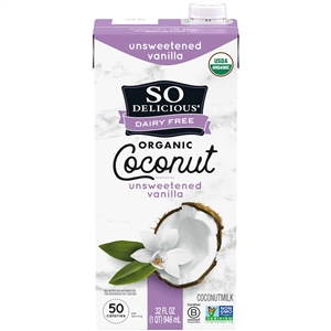 Coconut Unsweetened Vanilla Beverage Milk - 32 Fl. Oz.