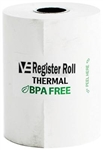 Register Roll 2.25 in. Thermal White 1 Ply - 80 Ft.