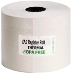 Register Roll 2.25 in. Thermal White 1 Ply - 200 Ft.