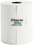 Register Roll 3.13 in. Thermal White 1 Ply - 200 Ft.