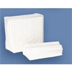 Dinner Napkin 1 Ply White - 15 in. x 17 in.