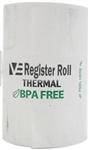 Register Roll 2.25 in. Thermal White 1 Ply - 52 Ft.