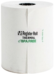 Register Roll 3.13 in. Thermal White 1 Ply - 230 Ft.