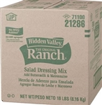 Hidden Valley Dry Buttermilk Ranch No Msg - 18 Lb.