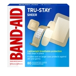 Band Aid Brand Sheer Strips Assorted