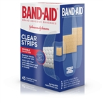Band-Aid Clear Strips Assorted