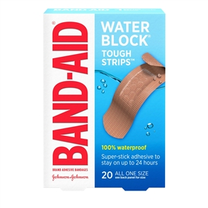 Band-Aid Tough Strips Waterproof