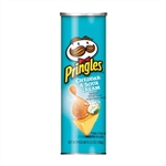 Kellogg Pringles Crisps Cheddar and Sour Cream - 5.5 Oz.