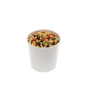 White Paper Food Container - 12 Oz.