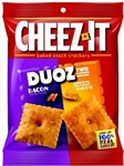 Sunshine Cheez-It Duoz Bacon and Cheddar Cheese - 4.3 Oz.