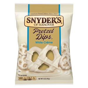 Snyders Of Hanover Pretzel White Chocolate Dips - 5 Oz.