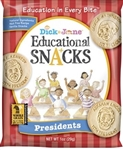 Educational Snack President - 1 Oz.
