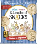 Educational Snack States and Capitals - 1 Oz.