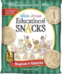 Educational Snack English and Spanish - 1 Oz.