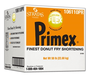 Primex Golden Flex Donut Fry Shortening