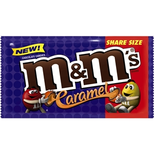 M and Ms Caramel Ks - 2.83 Oz.