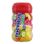 Mentos Sugar Free Gum Curvy Bottle Mixed Fruit