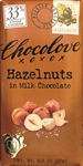 Hazelnuts Chocolate In Milk master Case - 3.2 Oz.