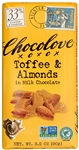 Toffee and Almonds in Milk Chocolate master case - 3.2 Oz.