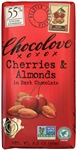 Cherries and Almonds in Dark Chocolate master case - 3.2 Oz.