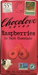Raspberries in Dark Chocolate Master Case - 3.1 Oz.