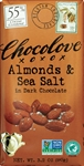 Almonds and Sea Salt in Dark Chocolate Master Case - 3.2 Oz.
