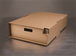 LBP Catalog Large Corrugated Catering Tray and Cover Plain Kraft