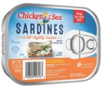 Chicken Of The Sea Smoked Sardines In Oil - 3.75 Oz.