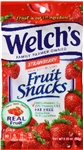 Fruit Strawberry Snacks - 2.25 Oz.