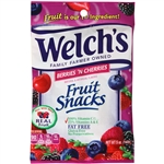 Welchs Fruit Snacks Mixed Fruit Strawberry and Beeries and Cherries