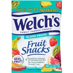 Welchs Fruit Snacks Island Fruits Clip Strip - 5 Oz.