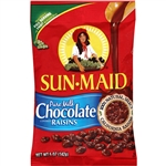Milk Chocolate Raisin Clip Strip - 5 Oz.
