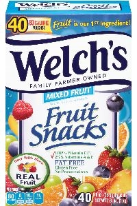Welchs Mixed Fruit Snacks