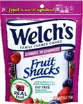 Fruit Berries and Cherries Resealable Snacks