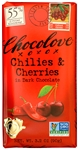 Chilies and Cherries in Dark Chocolate - 3.2 oz.