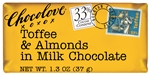 Toffee and Almonds in Milk Chocolate Master Case - 1.3 Oz.