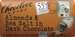 Almonds and Sea Salt in Dark Chocolate Master Case - 1.3 Oz.